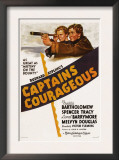 Captains Courageous, Freddie Bartholomew, Spencer Tracy, 1937 Print
