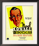 The Scoundrel, Noel Coward on Midget Window Card, 1935 Poster