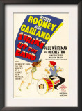 Strike Up the Band, Judy Garland, Mickey Rooney, 1940 Print