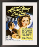 All That Money Can Buy (Aka the Devil and Daniel Webster), James Craig, Anne Shirley, 1940 Posters