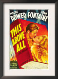 This Above All, Tyrone Power, Joan Fontaine, 1942 Posters