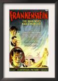 Frankenstein, Dwight Frye, John Boles, Mae Clarke, Boris Karloff, Edward Van Sloan, 1931 Print