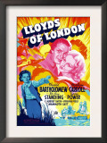 Lloyds of London, Tyrone Power, Madeleine Carroll, Freddie Bartholomew, 1936 Posters