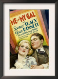 Me and My Gal, Joan Bennett, Spencer Tracy, 1932 Prints