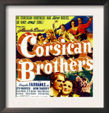 The Corsican Brothers, Akim Tamiroff, Douglas Fairbanks Jr., 1941 Prints
