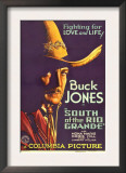 South of the Rio Grande, Buck Jones, 1932 Posters