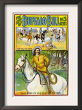 The Life of Buffalo Bill, Poster Art, 1912 Print