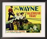 Sagebrush Trail, 1933 Posters