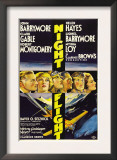 Night Flight, John Barrymore, Helen Hayes, Clark Gable, 1933 Posters