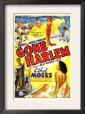 Gone Harlem, Ethel Moses, 1938 Art
