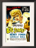 The Big Street, Lucille Ball, 1942 Print