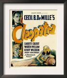 Cleopatra, Warren William, Henry Wilcoxon, 1934 Posters