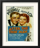 After the Thin Man, William Powell, Myrna Loy, Asta, 1936 Posters