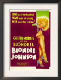 Blondie Johnson, Joan Blondell, 1933 Poster