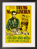 Young Mr. Lincoln, 1939 Art