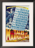 Tales from Manhattan, Rita Hayworth, Charles Boyer, 1942 Art