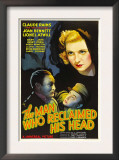 The Man Who Reclaimed His Head, Lionel Atwill, Claude Rains, Joan Bennett, 1934 Prints