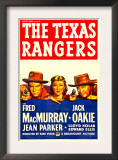 The Texas Rangers, Fred Macmurray, Jean Parker, Jack Oakie, 1936 Prints