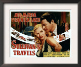 Sullivan&#39;s Travels, Veronica Lake, Joel Mccrea, 1941 Prints