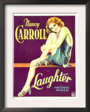 Laughter, Nancy Carroll on Window Card, 1930 Prints