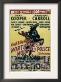 North West Mounted Police, 1940 Print