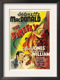 The Firefly, Allan Jones, Jeanette Macdonald, 1937 Prints