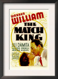 The Match King, Lili Damita, Warren William, 1932 Poster