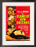 The Flame of New Orleans, Marlene Dietrich, Bruce Cabot, Roland Young, 1941 Prints