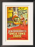 Uncle Tom's Cabin, Reclining Girl, Upper Center: Virginia Grey; Lower Center , 1927 Posters