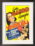 Ninotchka, Greta Garbo, Greta Garbo, Melvyn Douglas on Midget Window Card, 1939 Posters