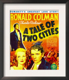 A Tale of Two Cities, Background: Ronald Colman, 1935 Pôsters