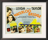Waterloo Bridge, Robert Taylor, Vivien Leigh, 1940 Art