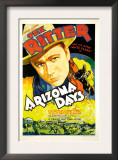 Arizona Days, Tex Ritter, 1937 Posters