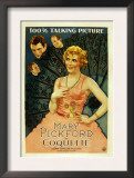 Coquette, Matt Moore, Johnny Mack Brown, Mary Pickford, 1929 Prints