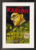 Mr. Wong, Detective, Evelyn Brent, Boris Karloff, 1938 Art