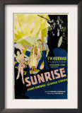 Sunrise, (Aka 'sunrise: a Song of Two Humans'); in Foreground, 1927 Posters