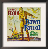 The Dawn Patrol, Errol Flynn, 1938 Pôsters