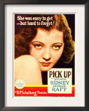 Pick-Up, Sylvia Sidney on Midget Window Card, 1933 Poster