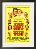 You Can'T Take it with You, James Stewart, Jean Arthur, 1938 Print