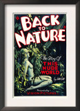 Back to Nature, 1933 Poster