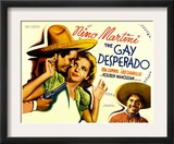 The Gay Desperado, Nino Martini, Ida Lupino, Leo Carrillo, 1936 Art