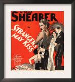 Strangers May Kiss, Norma Shearer on Window Card, 1931 Posters
