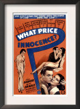 What Price Innocence, (Shall the Children Pay), 1933 Posters