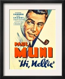 Hi, Nellie, Paul Muni, 1934 Print