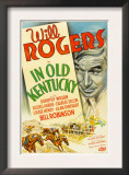 In Old Kentucky, Will Rogers, 1935 Posters