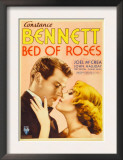 Bed of Roses, Joel Mccrea, Constance Bennett on Midget Window Card, 1933 Posters
