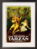 The Revenge of Tarzan, Gene Pollar, Karla Schramm, 1920 Posters