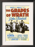 The Grapes of Wrath, John Carradine, Dorris Bowdon, Henry Fonda, 1940 Arte