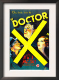 Doctor X, Lee Tracy, Lionel Atwill, Fay Wray, 1932 Prints