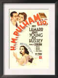 H.M. Pulham, Esq., Robert Young, Hedy Lamarr, 1941 Prints